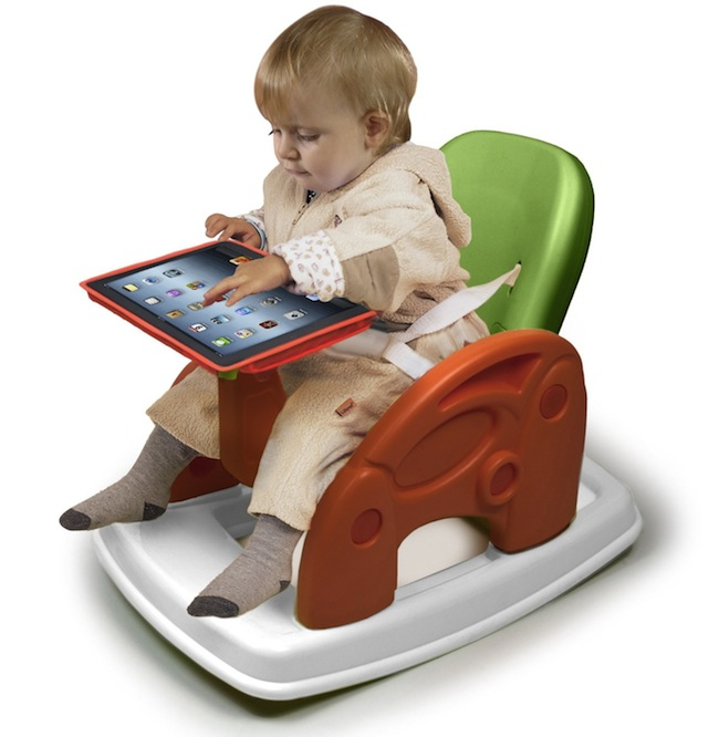 Rocking Chair with iPad Stand