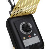 star trek communicator dog bag