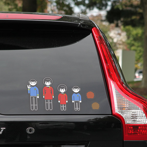star trek family stickers Pinboard
