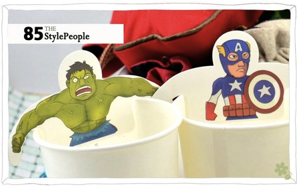 super hero tea bags2 Superhero Tea Bags