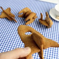 3d spaceship cookies