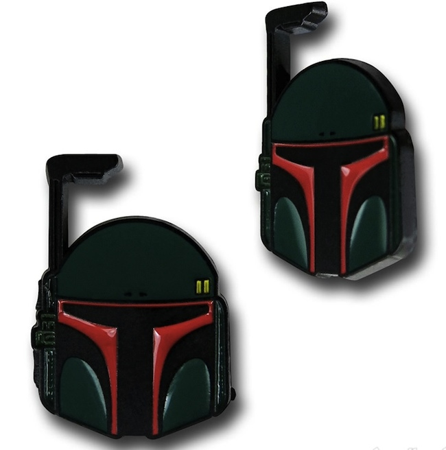 Boba Fett Earrings are Fit for a Bounty Hunter