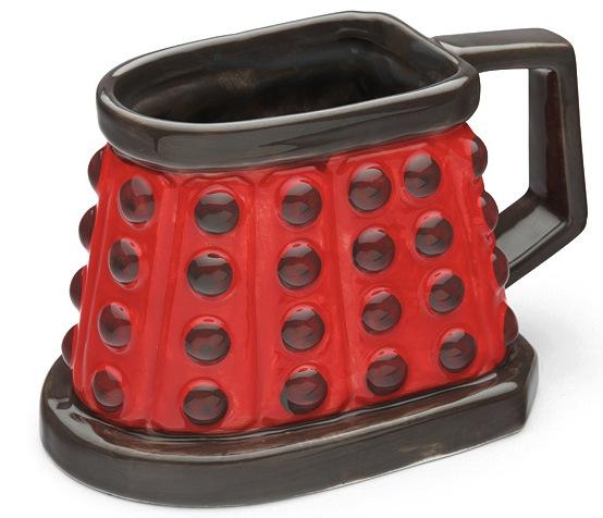 dalek 3d mug dr who