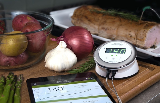 Bluetooth Enabled Kitchen Thermometer