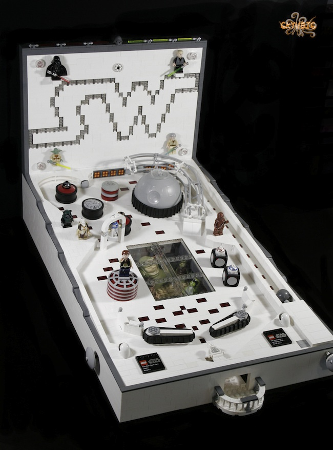 Playable Lego Star Wars Pinball Machine