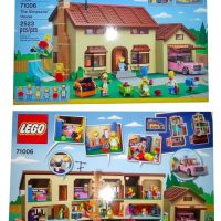 lego simpsons box