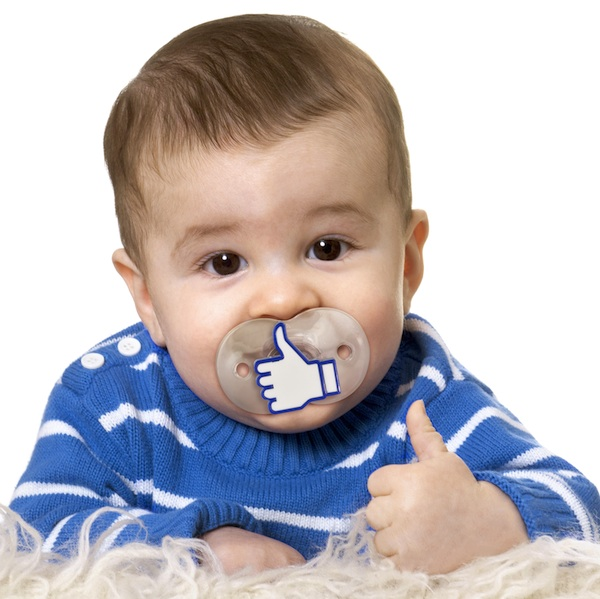 Like It Pacifier Gives the Thumbs Up