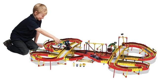 mario circuit knex Build Your Own Working Mario Kart Track with KNex