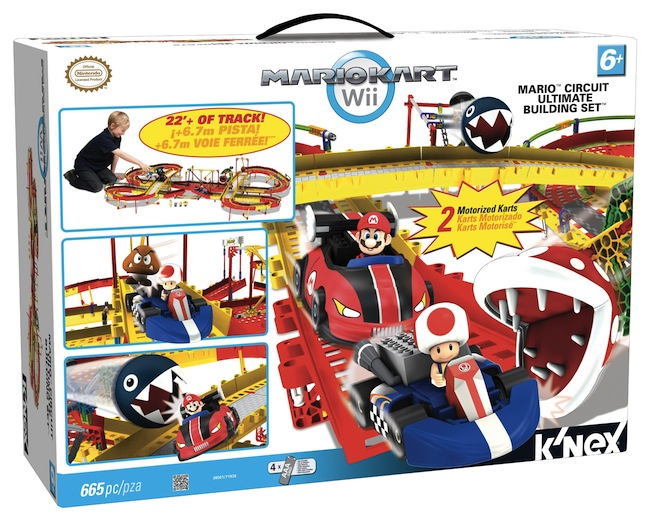 mario kart knex Build Your Own Working Mario Kart Track with KNex