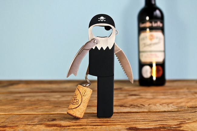 One-Legged Pirate Corkscrew
