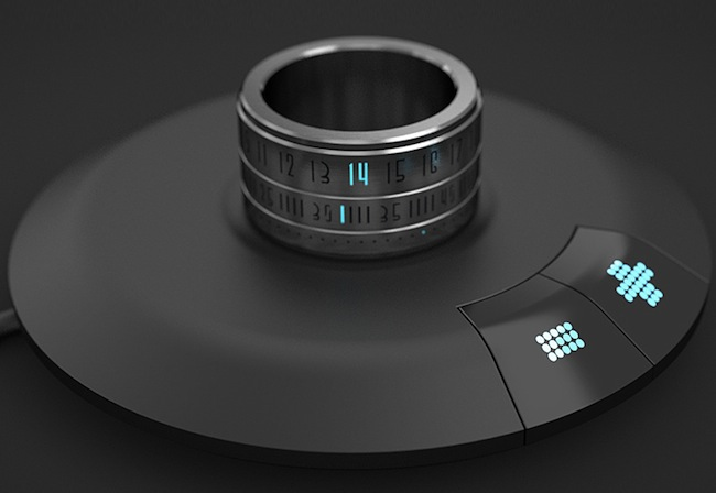 ring clock charger