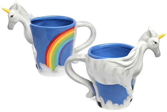 3D Unicorn Mug: Coffee is Magic