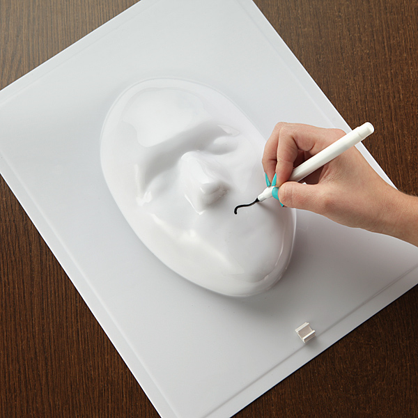 3d face whiteboard