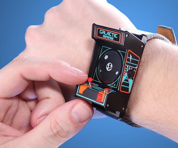 arcade wrist watch