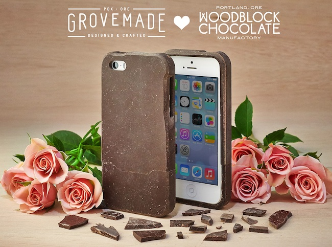 chocolate iphone case Incredible Edible: Chocolate iPhone Case