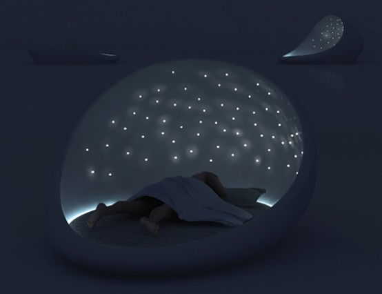 Sleep Under the Stars with the Cosmos Bed