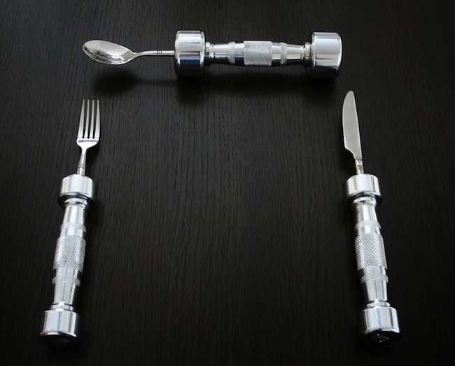 cutlery workout