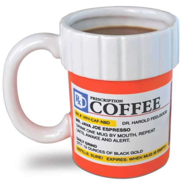 prescription coffee mug Pill Bottle Coffee Mug