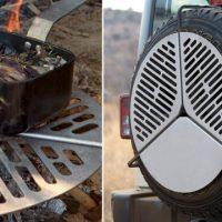 spare tire grill