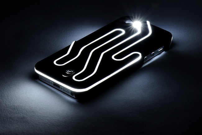 iPhone Case that Lights Up Using the Flash
