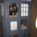 Doctor Who Tardis Cat Condo