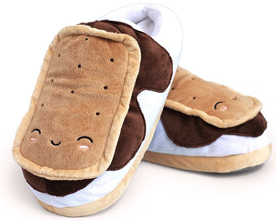 usb smores slippers