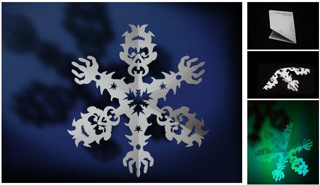 zombie snowflakes Pinboard