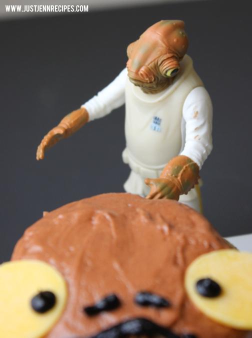 admiral ackbar cupcake