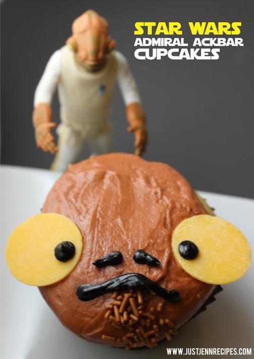 admiral ackbar cupcakes