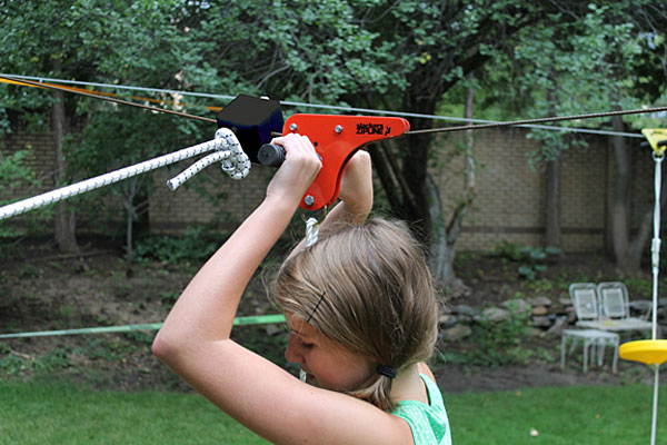 backyard zipline