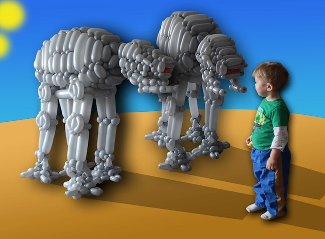 Balloon AT-AT's