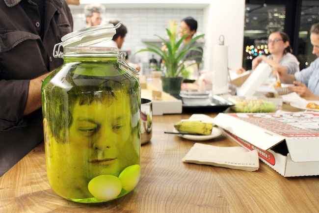 head in a jar to go
