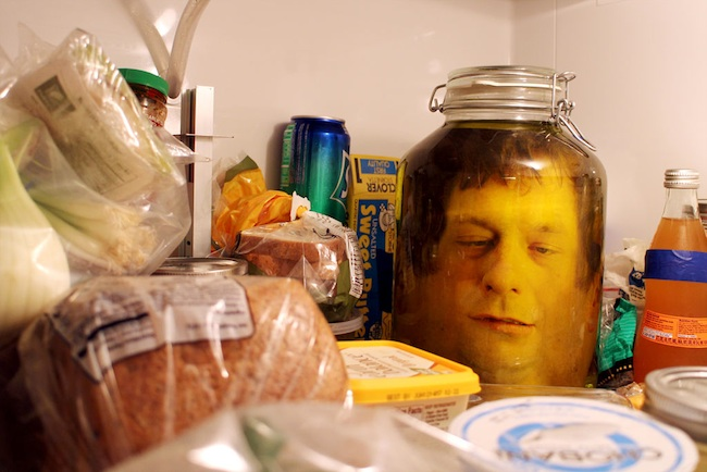 head in a jar Pinboard