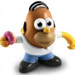 Homer Simpson Mr. Potato Head (Mr. PotaDoh! Head)