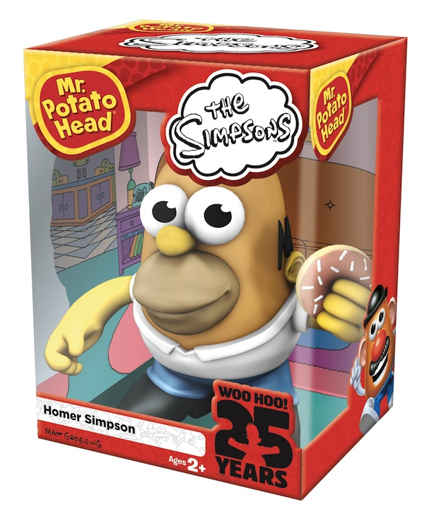 homer simpson mr potato head
