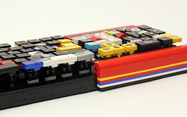 lego keyboard front
