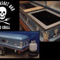 open casket grill