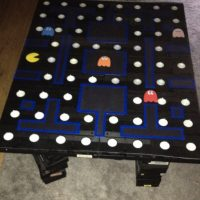 pac man vhs table