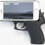 Pistol Grip iPhone Case: Shoot me a Text