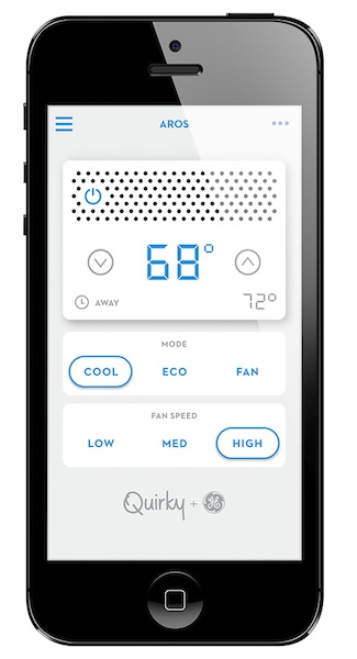 quirky aros ge app