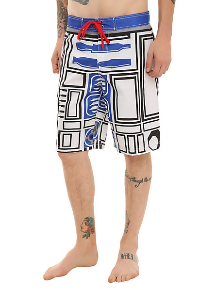 r2d2 swim trunks R2 D2 Mens Swim Trunks