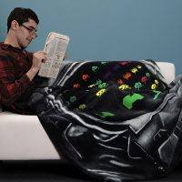 space invaders blanket in use