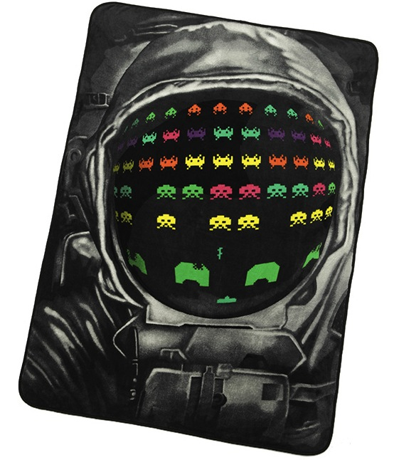 space invaders blanket Pinboard