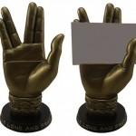 Star Trek Spock Hand Business Card Holder