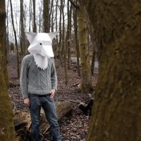 Really Odd Paper Animal Masks