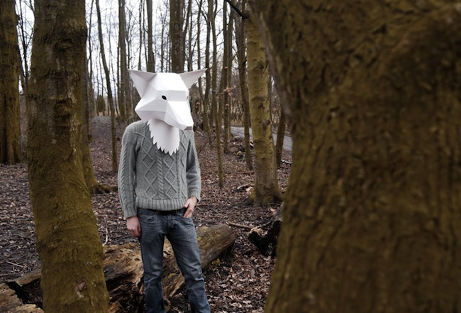 Really Odd Paper Animal Masks