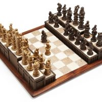 Legal Themed Chess Set