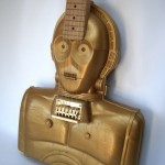 C-3PO Action Figure Case Guitar