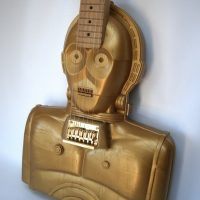 C-3PO Action Figure Case Guitar