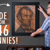lincoln penny portrait